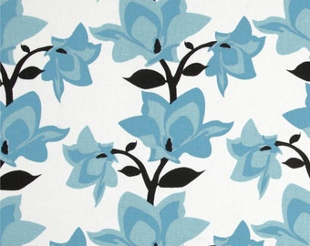 Blue and White Mikado Blue Home Dec Fabric - One Yard - Premier Prints Fabric