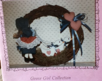 Sew Special Goose Girl Wreath
