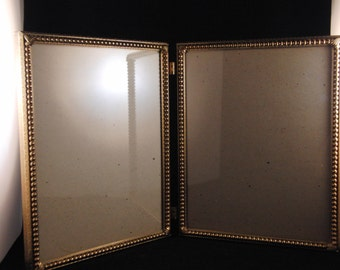 Very old double photo frame