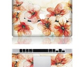 Peach blossom--Macbook Cover Protector Decal Laptop Art Sticker Skin Mabook Skin for Apple Macbook Pro/ Macbook Air/ipad 2 - AppleParadise