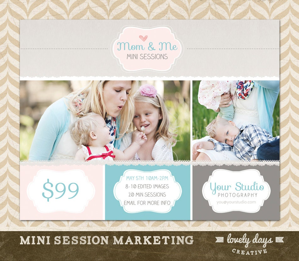 Mothers Day Mini Session Marketing Template By
