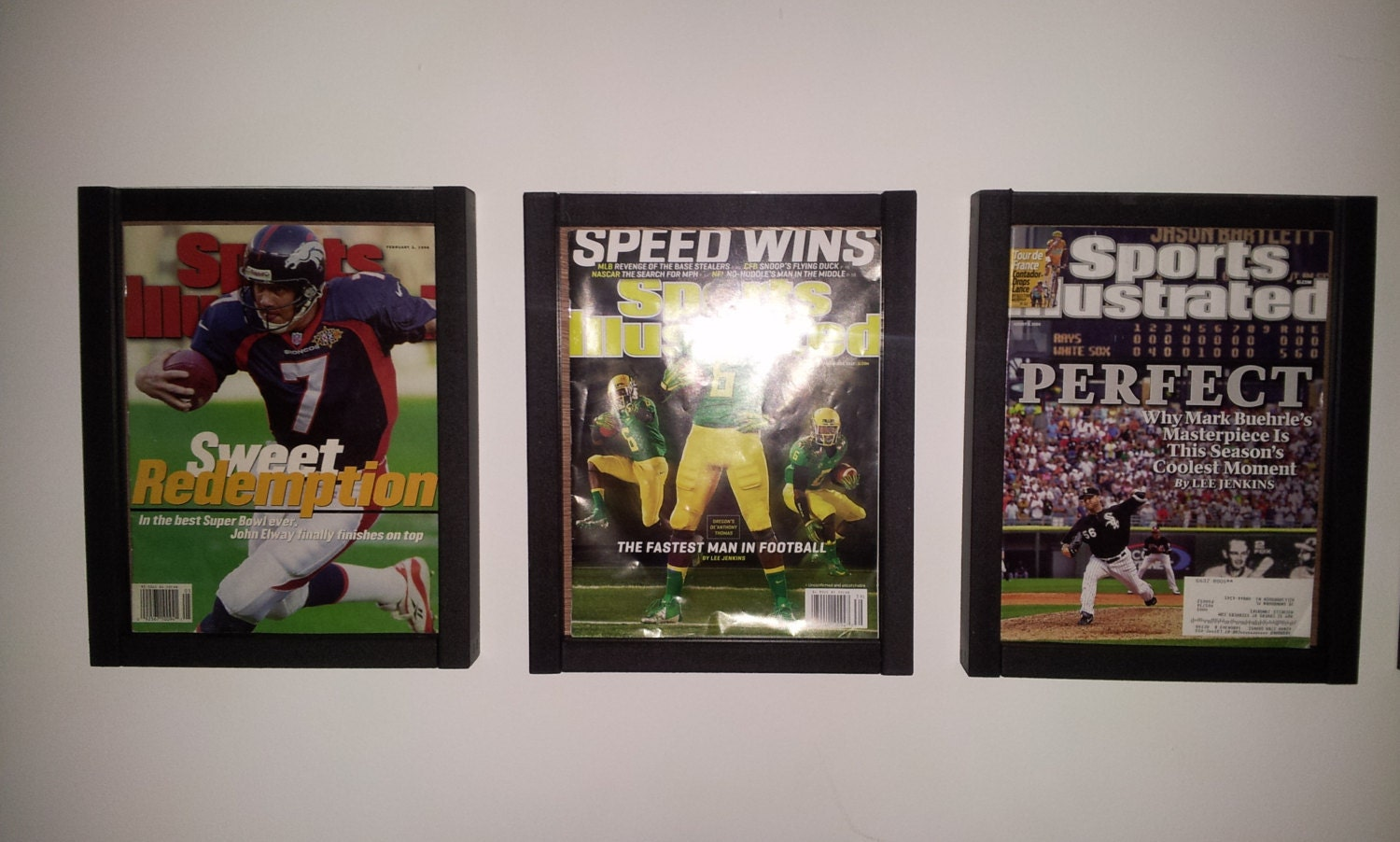 Magazine Sports Illustrated Display Frame Case By Displaytoday