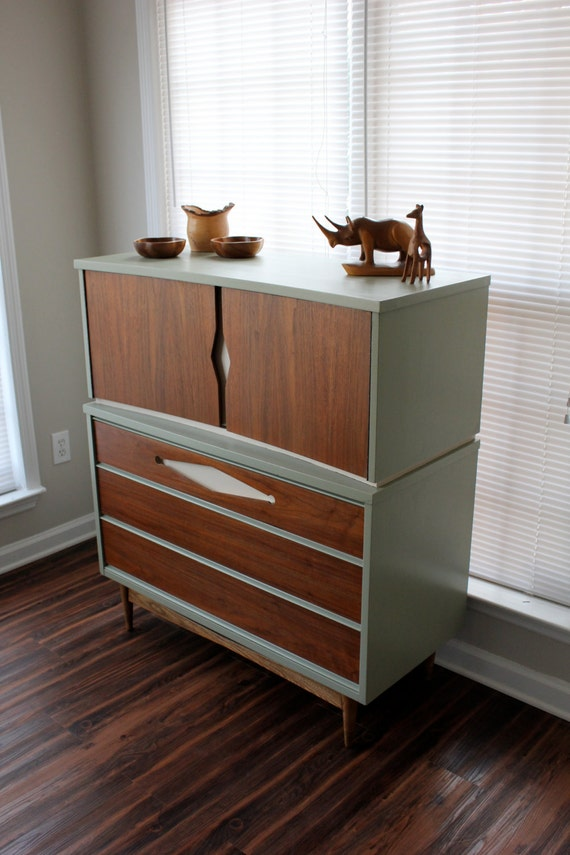 Mid-Century Dresser Refinished - ON HOLD