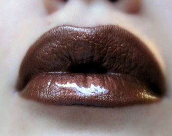 Copper Fusion - Brown/Copper  Liquid Lipstick/Lip gloss