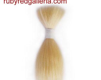 BD0008M6 Blonde Straight NuBorn Mohair 0.25 oz