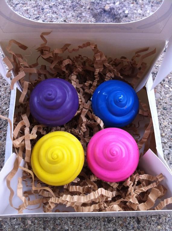 4pk. Mini Cupcake Crayons