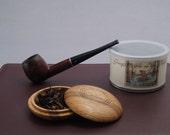 Oak Pipe Tobacco Travel Pouch (Baccyflap)