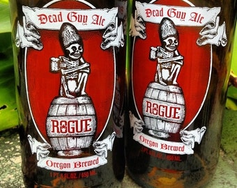 Rogue Dead Guy Ale beer glass