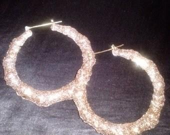 Golden Girl Bamboo Earrings