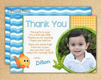 Goldfish Thank You Card