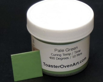 Pale Green Powder Coating