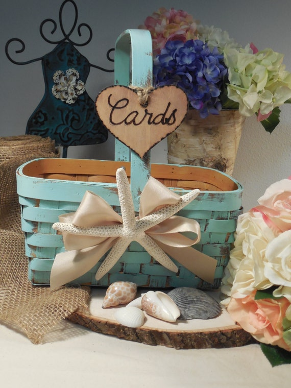 Wedding Card Basket - Programs Box - Card Holder - wedding Decor ...