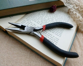 Jewellery Making Pliers, Grip Chain Pliers With Wire Cutting Edge