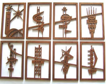 Mid-Century Modern Googie Signs 4