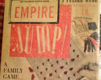 Vintage - EMPIRE, JUMP -A Favotie Puzzle Game - Test Your IQ - Family Game, Family Night, Challenging