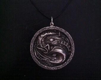Cthulhu Cult Medallion Pendant LARP Prop