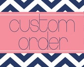 Custom Order - LAUREN - Chalkboard
