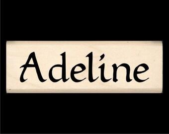 Name Stamp - Adeline