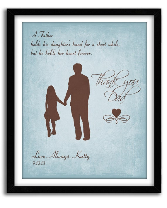 Father Quote For Daughter: Father Daughter Gift Gift For Dad Father Of Bride