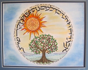 Hebrew Alphabet and Morning Blessings