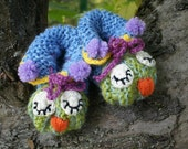 Baby Booties Owl Booties Knitted Baby Booties Crochet Baby  Booties Baby Shoes Latvia Team