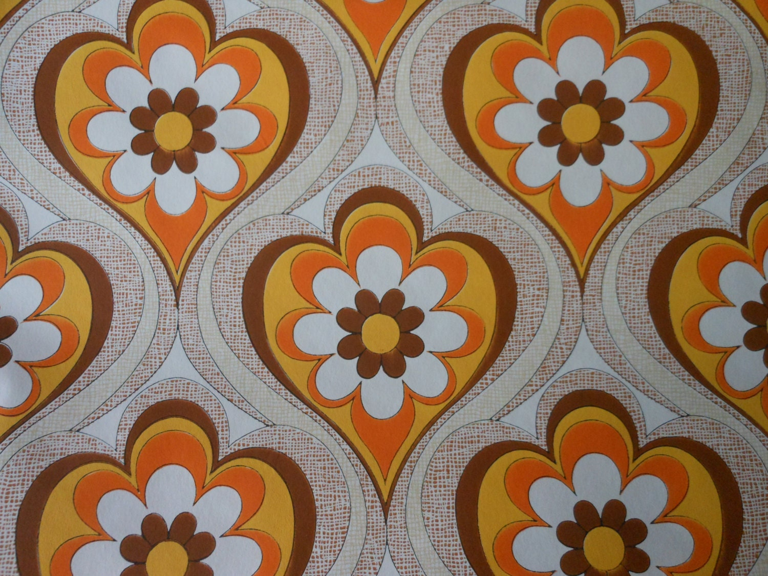 1970s vintage wallpaper retro - photo #15