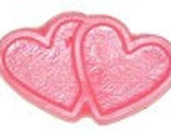 Valentines Day Two Hearts Soap