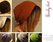 Made to Order, hand knit slouchy hats