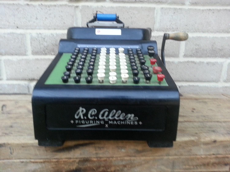 rc allen figuring machine