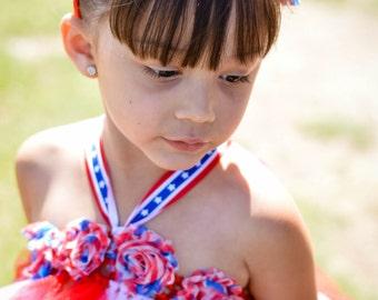 4th of July tutu dress (sizes 2T-5T)