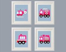 Popular Items For Fire Truck Nursery On Etsy