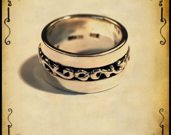 Medieval Nemus ring - Sterling silver 925