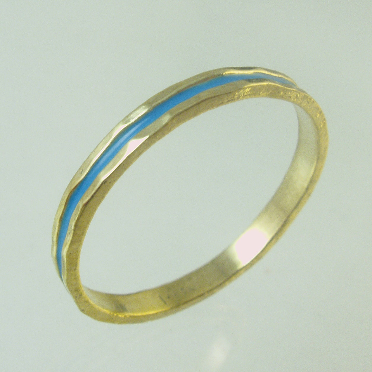 Woman Wedding Band14 Karat Ring Recycled Gold Wedding
