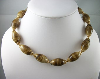 Vintage bugbee niles signed gold tone by for Bugbee and niles jewelry