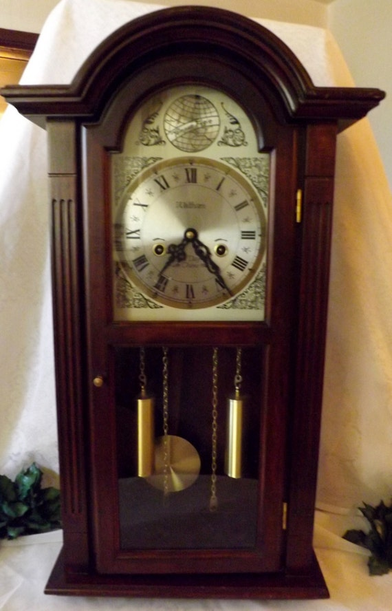 Waltham Tempus Fugit Regulator Long Case Clock