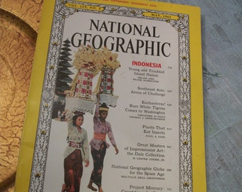 National Geographic Magazine May 1961 Vol. 119. No. 5