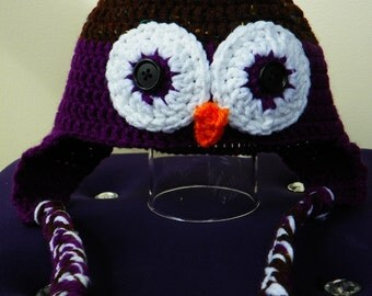 Owl Hats - Adult Size
