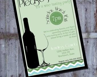 Wine tasting invitation for all occasions