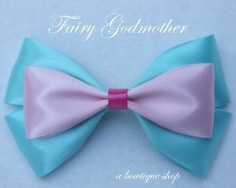 fairy godmother hair bow