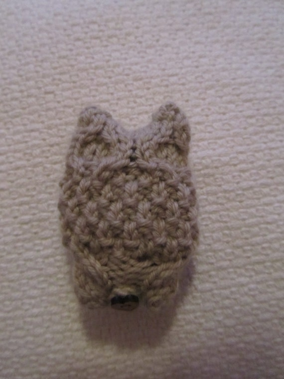 Knitting Pattern Lavender Bag : Hand Knitted Cute Owl Lavender Bag