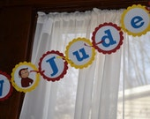 Curious George Banner (Happy Birthday)