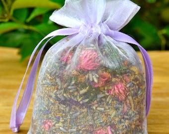 Lavender and Rosewood Potpourri Sachet
