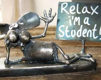 Student Mouse Sculpture