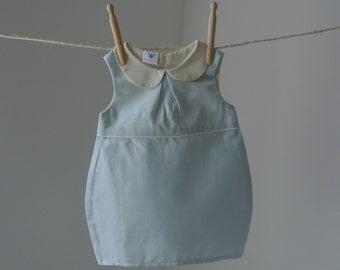 Girls linen dress - Etsy