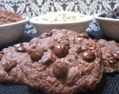 Lactation Cookie Mix Double Chocolate Oatmeal for nursing moms to increase breast milk supply