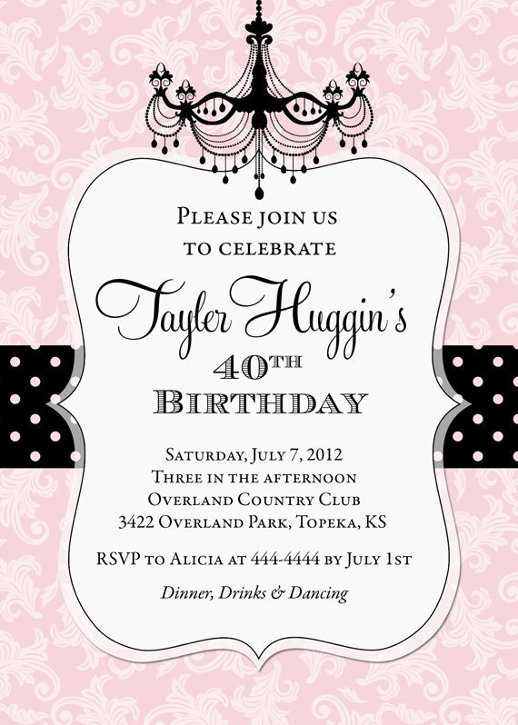 happy birthday invitation cards