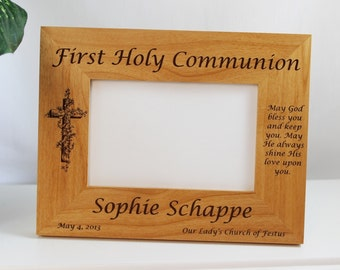 Communion, Confirmation and Baptism Frames First Communion Christening