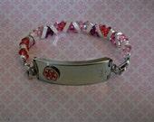 Razzle-Dazzle Your Medic-Alert Bracelet w/Swarovski Gems