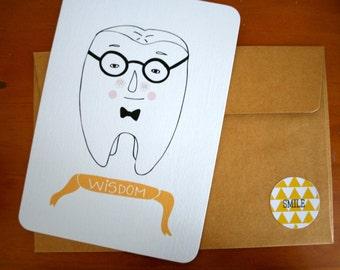 Wisdom Tooth Postcard