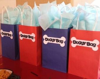 Puppy Dog Bone Favor Bags